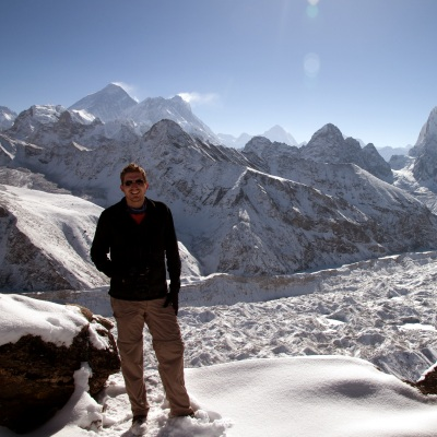 Ross at Gokyo Ri, Nepal
